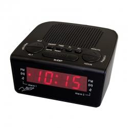 Nero Compact Alarm Clock Radio