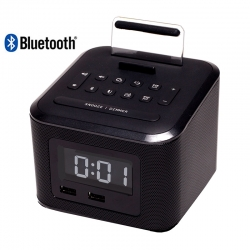 Nero Cube Bluetooth Alarm Clock Radio