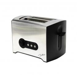 Nero 2 Slice Toaster Stainless Steel Rectangular